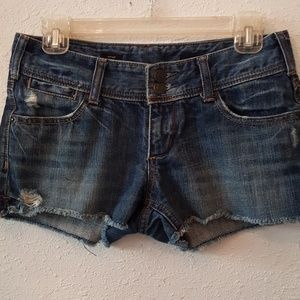 Pants - X2 W20 Stella distressed jean shorts